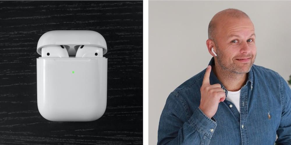 Apple AirPods Komplett Bedrift