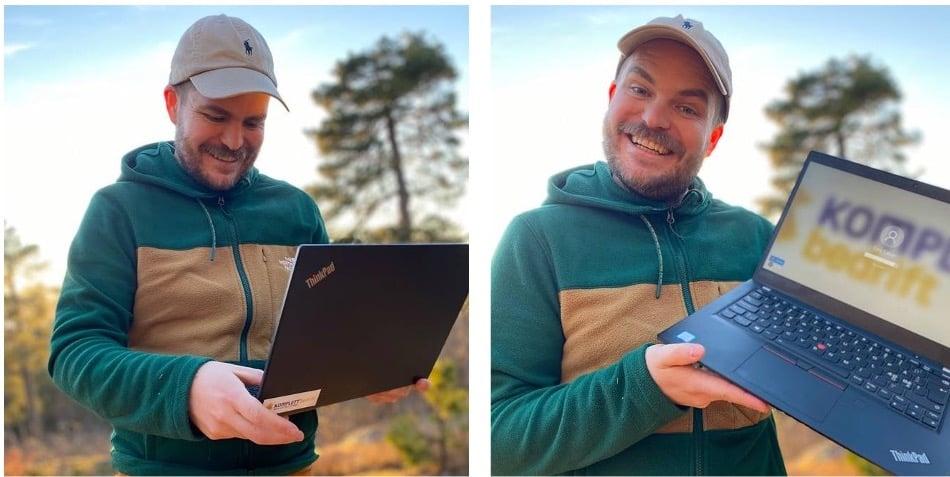 Lenovo ThinkPad x390 - komplett bedrift