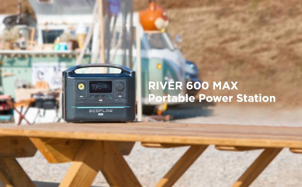 River 600 Max strømstasjon