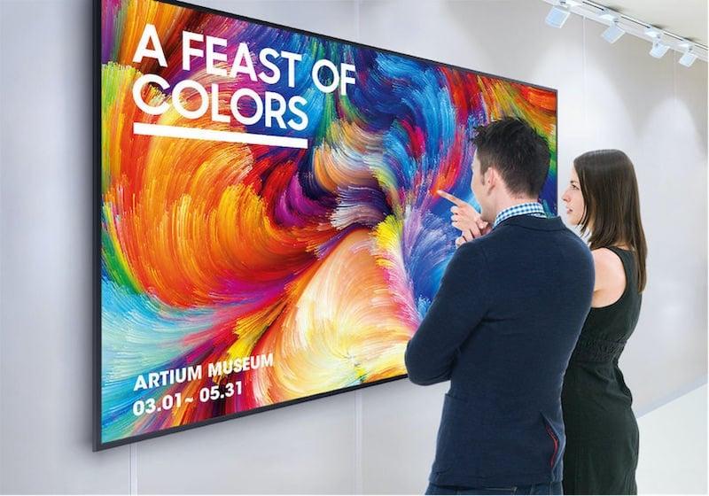 Samsung 65 tommer Public Display QB65R