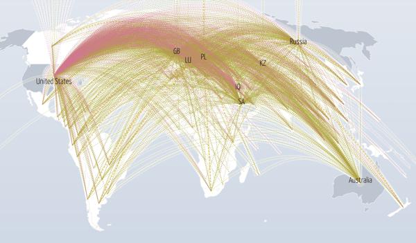 Live dataangrep verden over