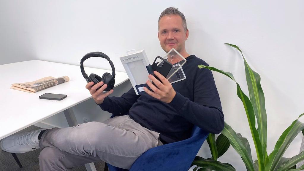 Trond Soglo Nilssen, produktsjef i Komplett Bedrift