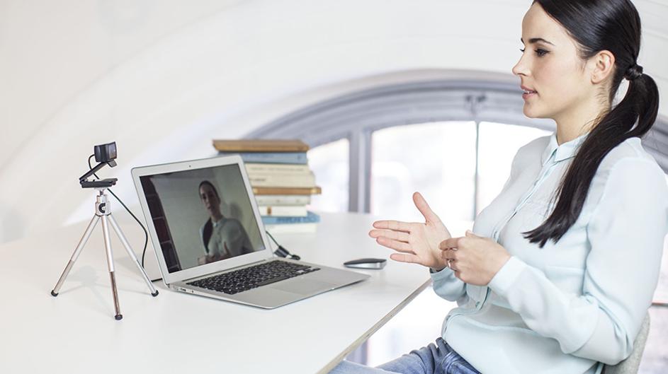 eksternt webkamera til webinar