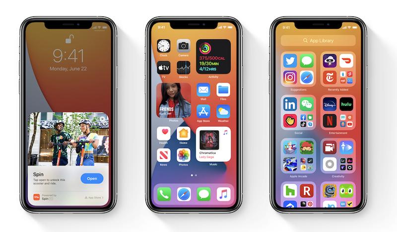 iOS 14 Apple iPhone 2020