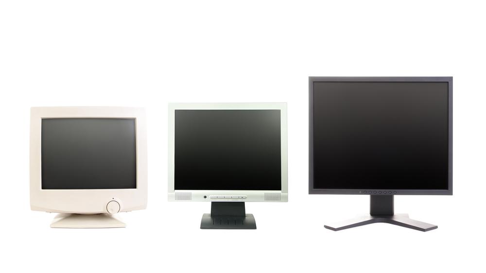 dataskjermer fra kloss til koloss