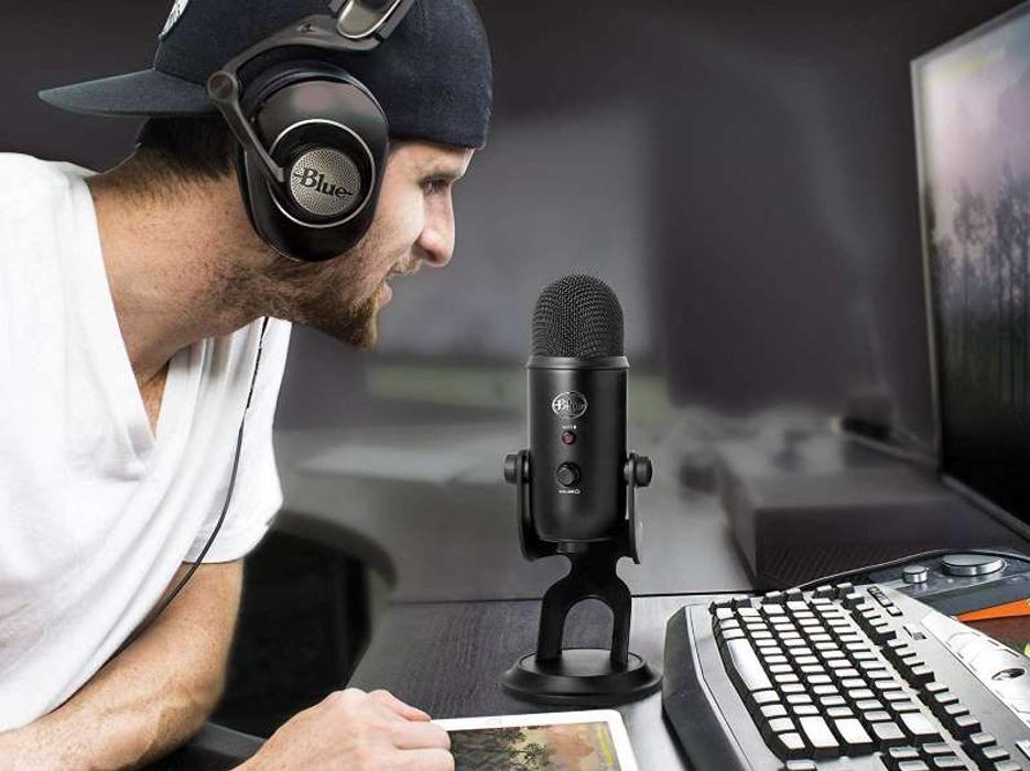 usb-mikrofon til podkasting og webinarer