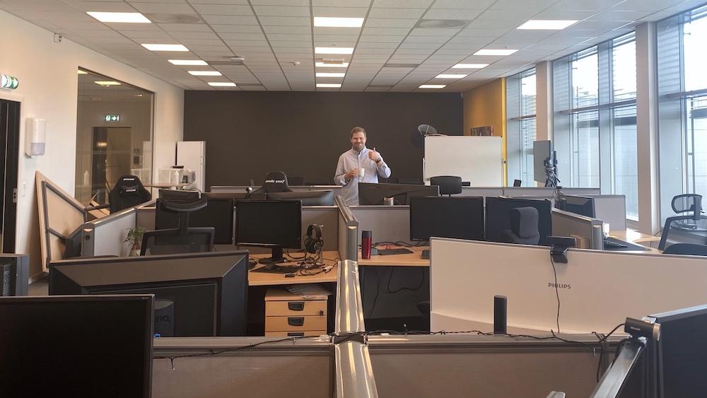 Kåseri: Tilbake på kontoret etter lockdown