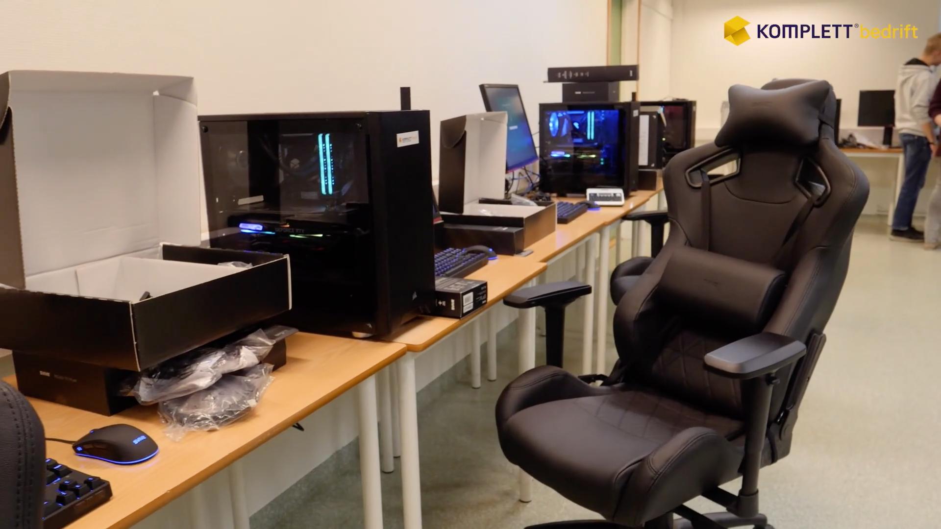 Video: Tilrettelegger for gaming på timeplanen