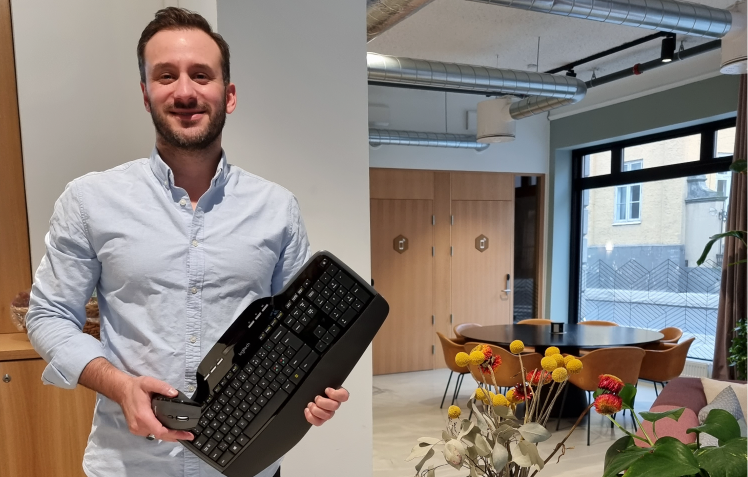 En hyllest til en gammel traver – MK710 tastatur og mus