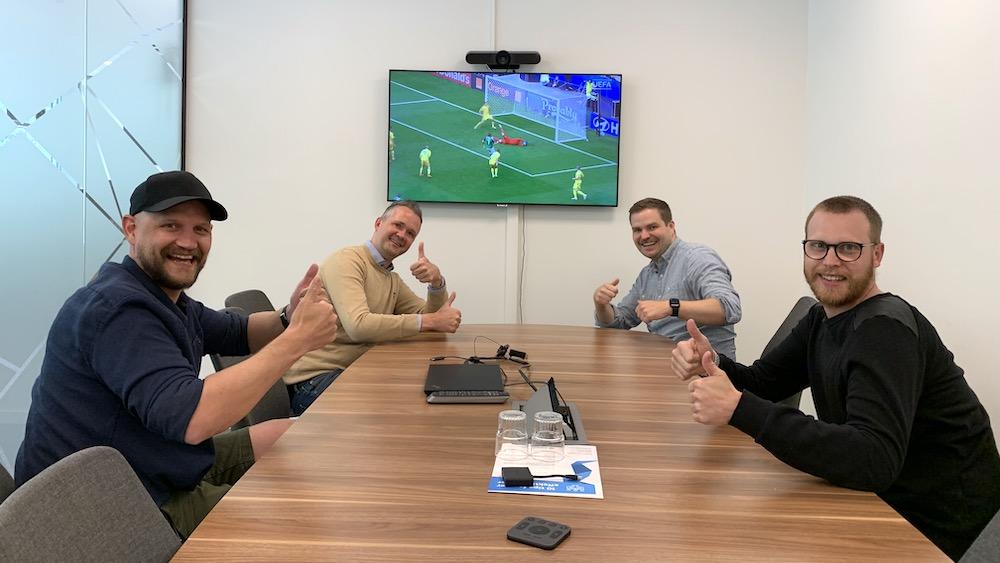TV-sport som teambuilding på kontoret