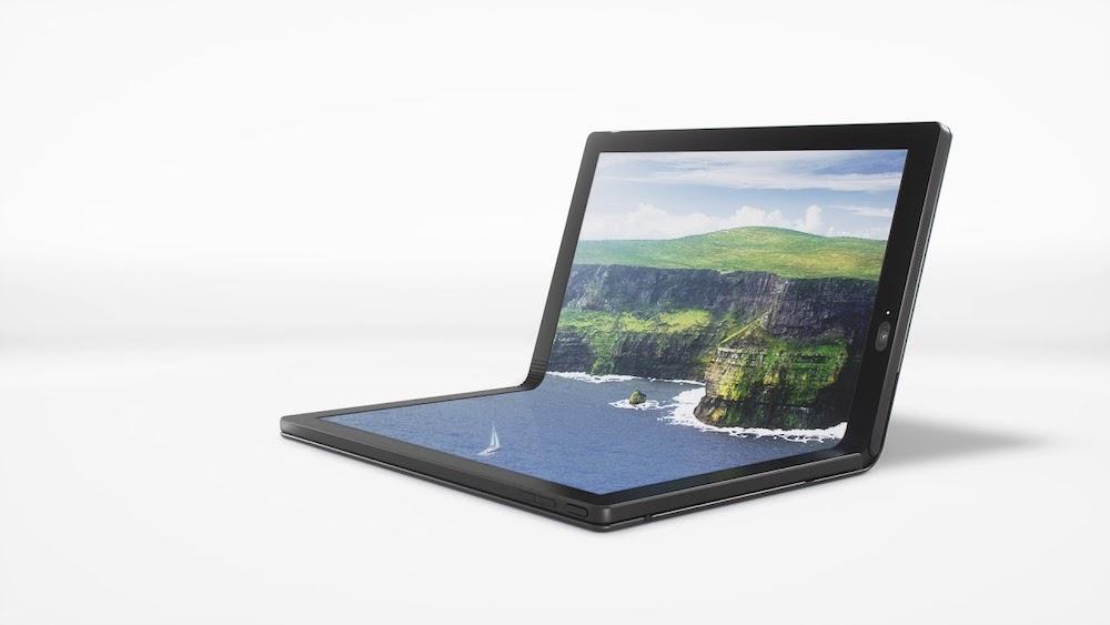 Her er verdens første brettbare PC: Lenovo ThinkPad X1 Fold